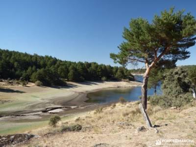Azud y nacimiento Acueducto de Segovia; caminito del rey solsticio de verano monasterio de piedra vi